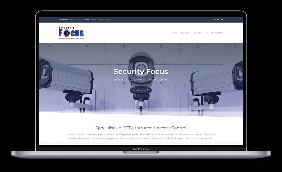 Security Focus Laptop