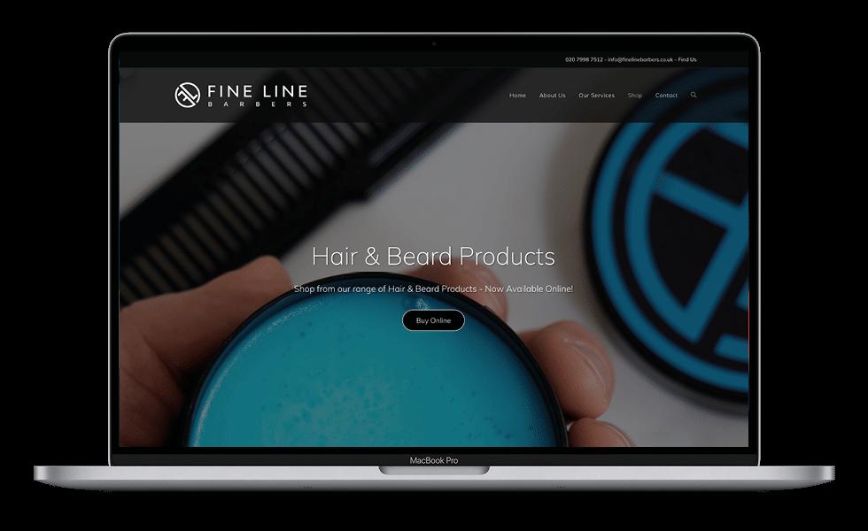 Fine Line Barbers Macbook