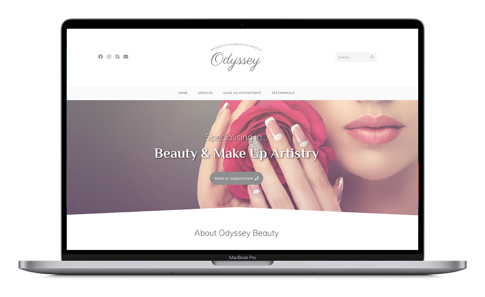 Odyssey Beauty Macbook