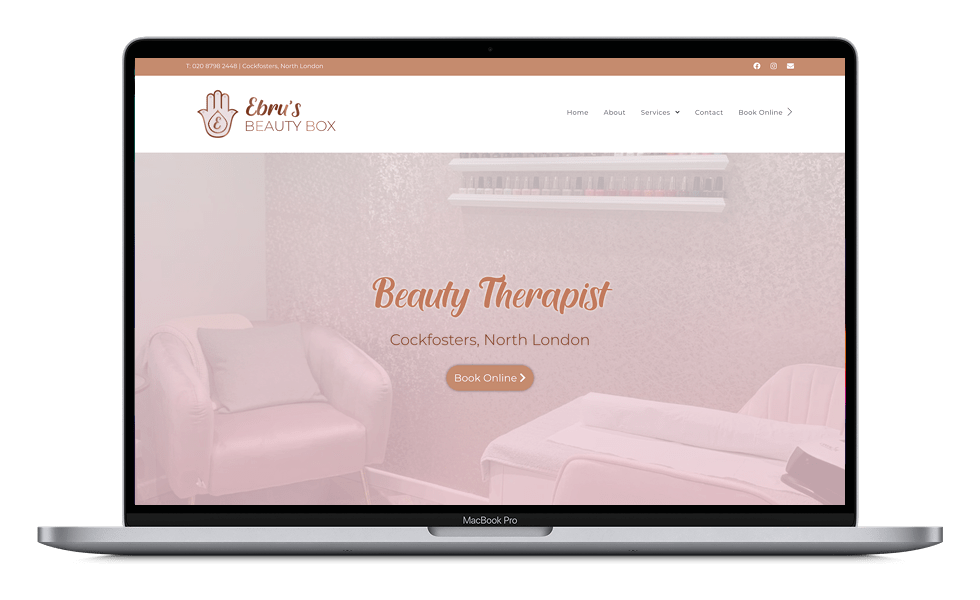 Ebru's Beauty Box - Homepage