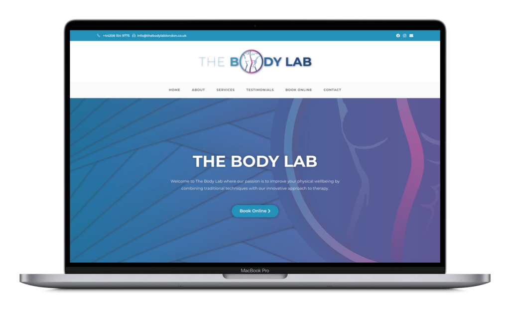 The Body Lab - MacBook Design