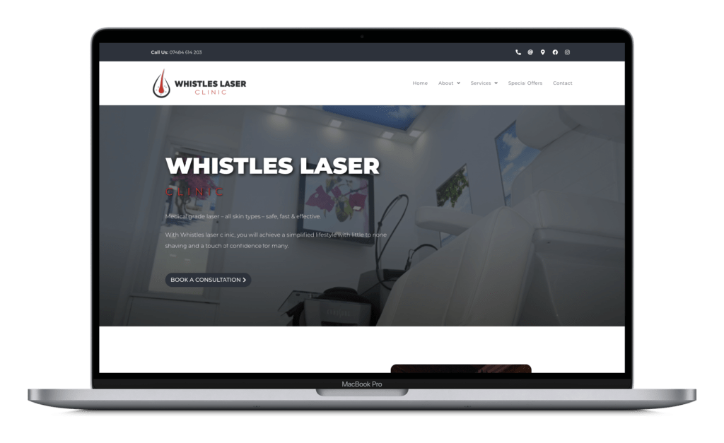 Macbook - Whistles Laser Clinic