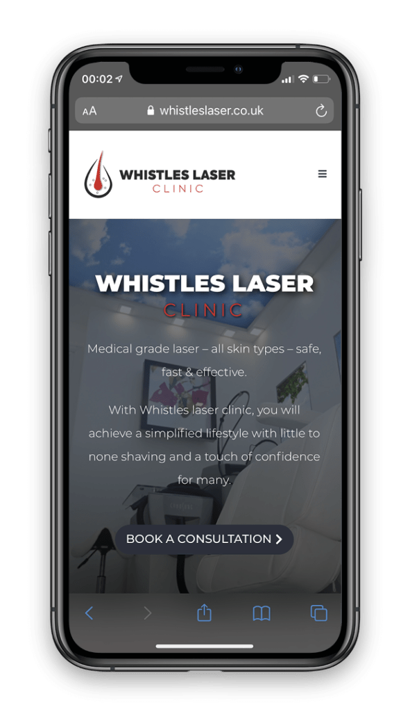 Macbook - Whistles Laser Clinic-Laser