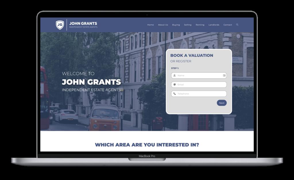 John Grants Estate Agents - MacBook