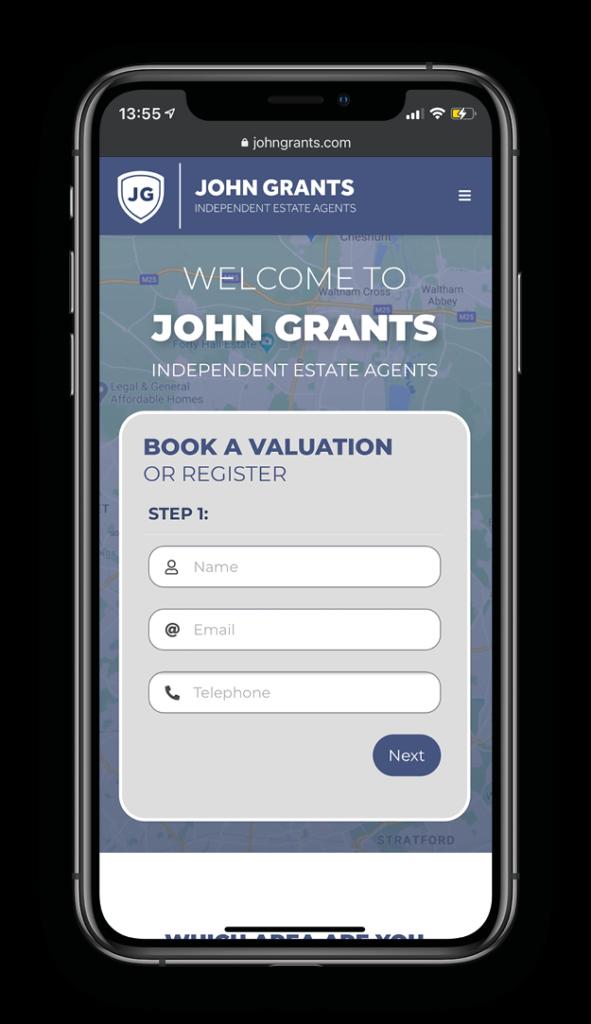 John Grants Estate Agents - iPhone